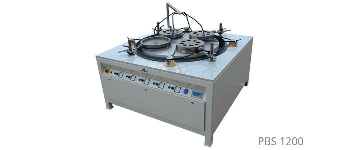Läpp- und Poliermaschinen mit Ring-/Tragkörperaufnahme