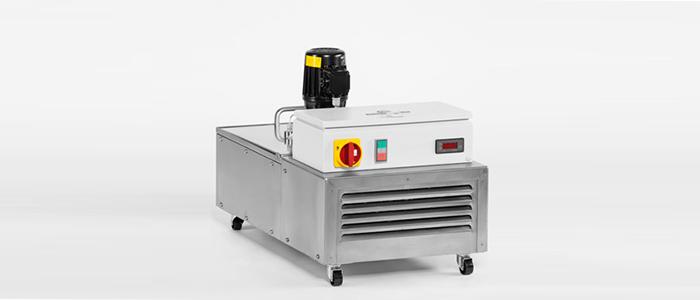 Poliermitteltemperiergerät mit aktiver Kühlung