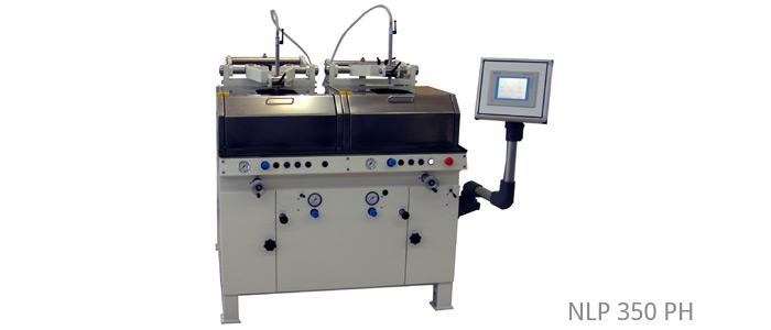Läpp- und Poliermaschinen mit Parallelogrammhebel