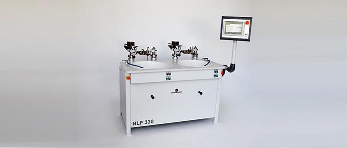 Läpp- und Poliermaschinen mit Doppelhebel und Doppelexzenter