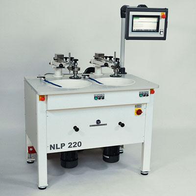 Läpp- und Poliermaschinen mit Horizontalhebel