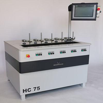 NC- und CNC-gesteuerte Läpp- und Poliermaschinen mit Polierhebel