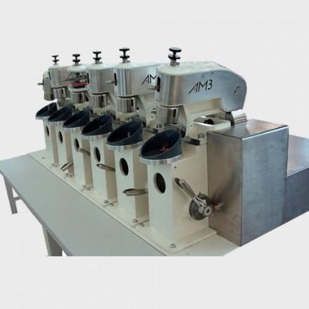 Radienpoliermaschinen für Stielchenbearbeitung