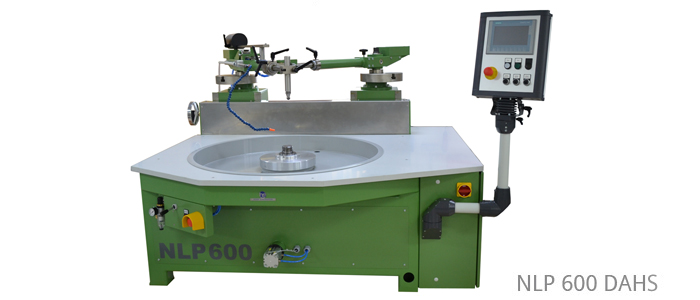 Lapping and polishing machines with double eccentric and double overarm