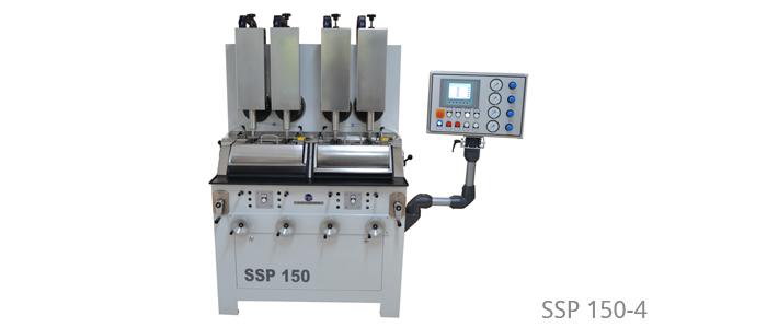 Radienpoliermaschinen für Stielchenbearbeitung und Membranfutter