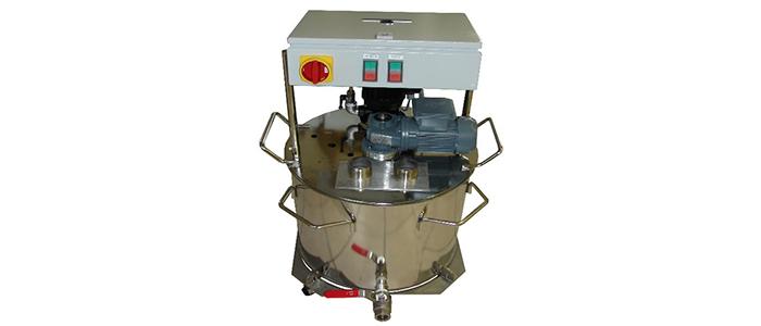 Poliermitteltemperiergerät für bauseitigen Kühlkreislauf